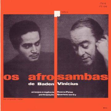 Folder Os Afro Sambas De Baden e Vinícius