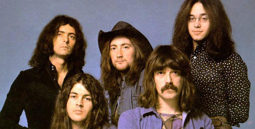 A Mark II do Deep Purple: Ritchie Blackmore, Ian Gillan, Roger Glover, Jon Lord e Ian Paice