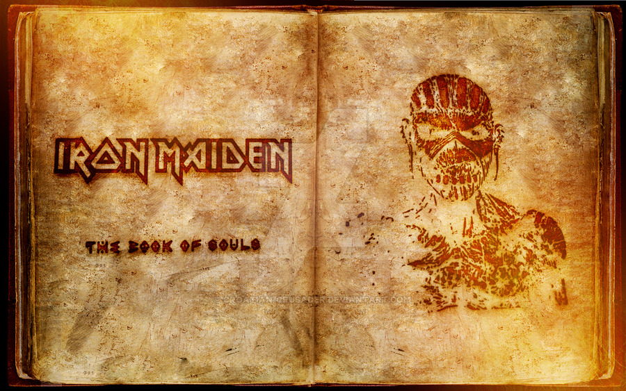 Book of souls imagem interna