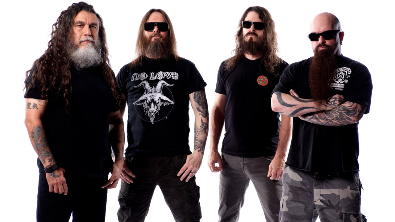 Tom Araya, Gary Holt, Paul Bostaph, Kerry King