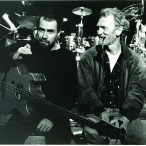 Jonas Hellborg e Ginger Baker, na época do Public Image Ltd.