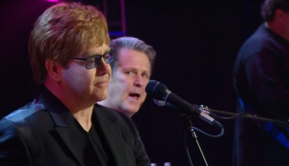 Elton John e Brian Wilson