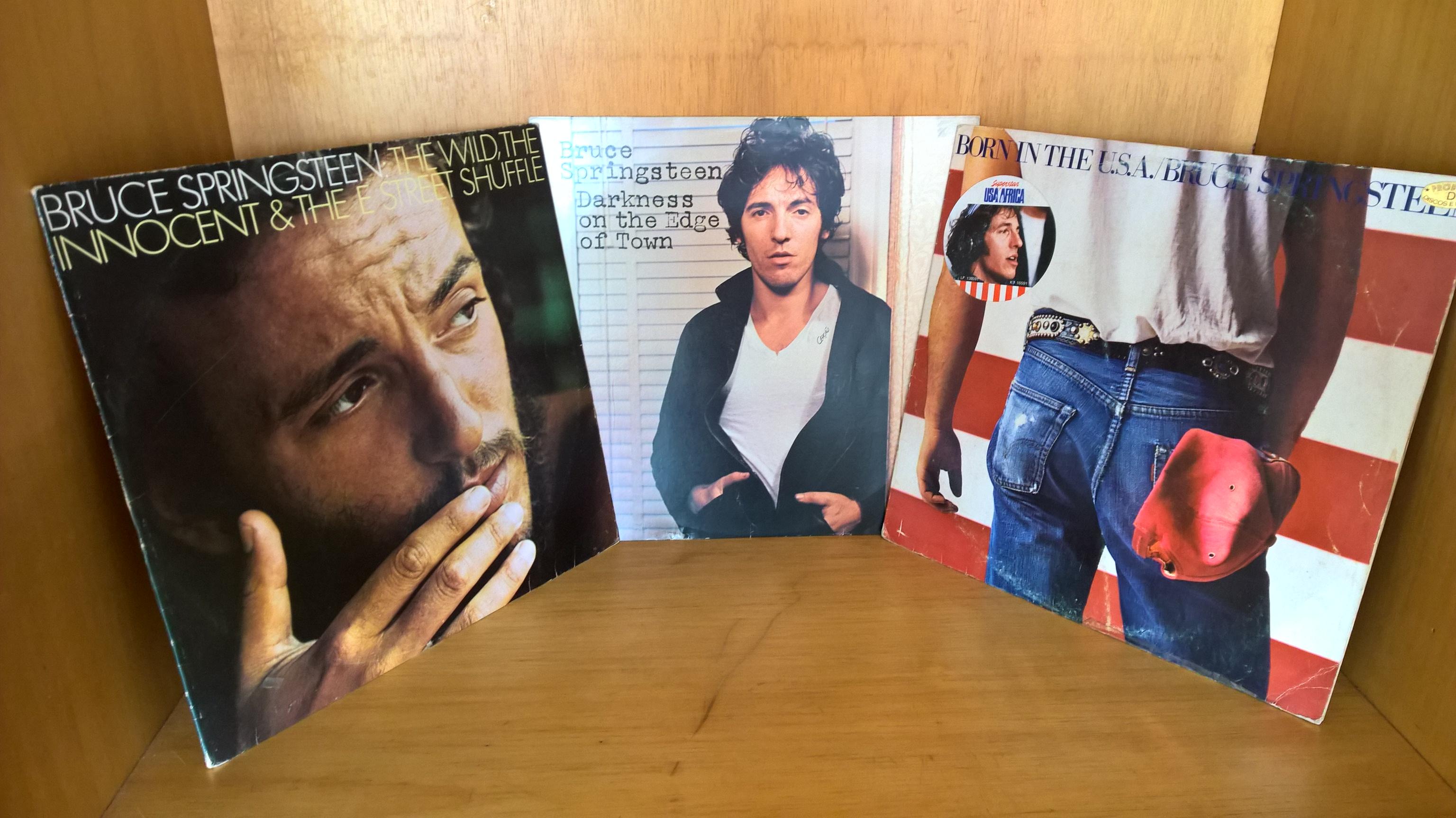 Primeiros discos que comprei do Springsteen