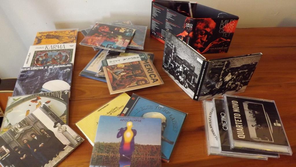 Alguns CDs