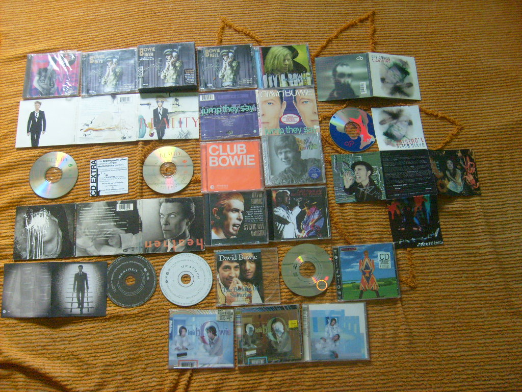 David Bowie CDs
