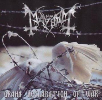 Discos que Parece que Só Eu Gosto: Mayhem – Grand Declaration of War [2000]