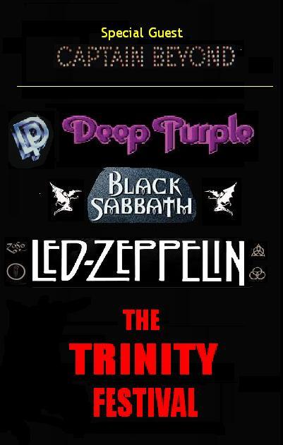 Notícias Fictícias que Gostaríamos que Fossem Reais: The Trinity Festival Tour