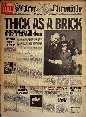 Datas Especiais: 40 Anos de Thick As a Brick (Jethro Tull)
