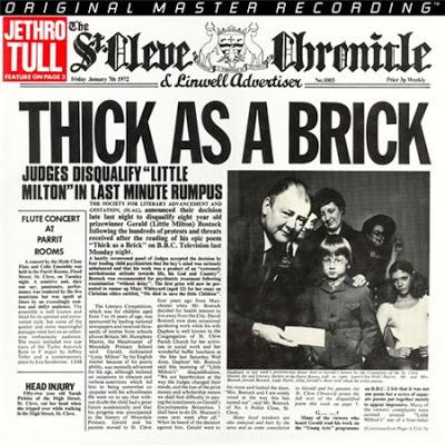 Maravilhas do Mundo Prog: Jethro Tull – Thick As a Brick (Parte I) [1972]