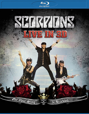 DVD: Scorpions – Get Your Sting and Blackout: Live in 3-D [2012]