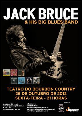 Review Exclusivo: Jack Bruce (Porto Alegre, 26 de outubro de 2012)
