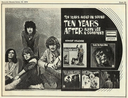 Discografias Comentadas: Ten Years After (parte 1)
