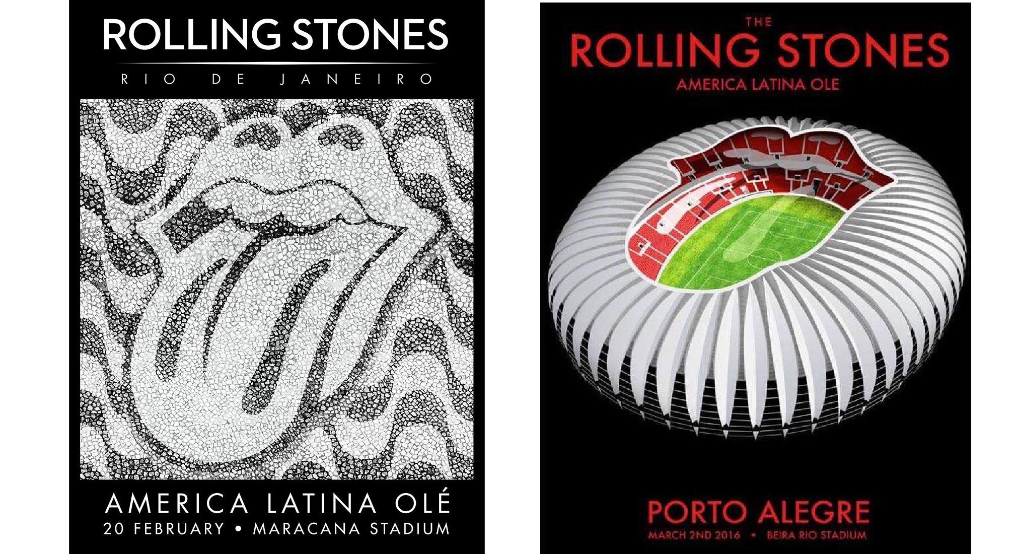 Rolling Stones América Latina Olé Tour – Rio de Janeiro / Porto Alegre