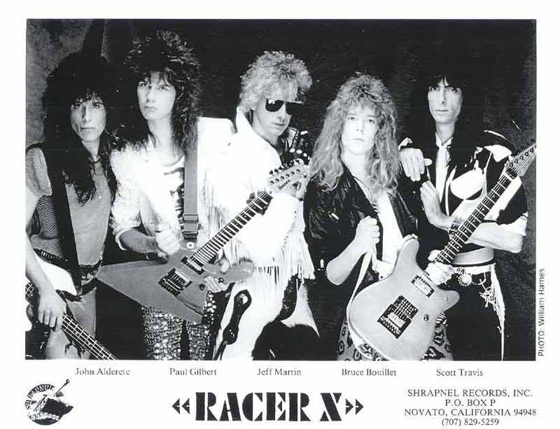 Discografias Comentadas: Racer X