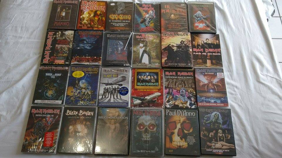 IRON MAIDEN DVDS 5