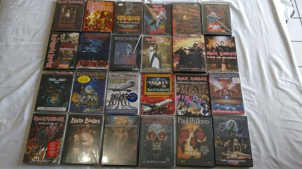 IRON MAIDEN DVDS 5