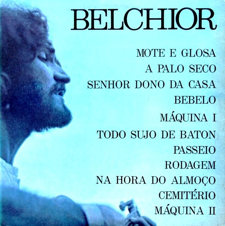 Belchior - A Palo Seco (1974)capa