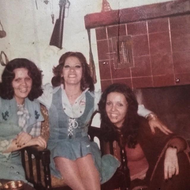 minha mãe, minha tia e clara nunes