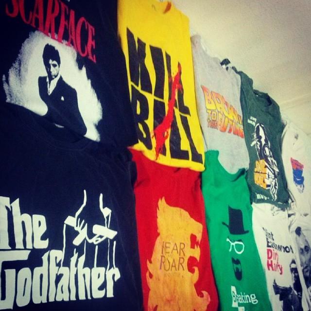 minhas camisas