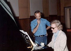 Piazzolla e Mulligan nos estúdios italianos