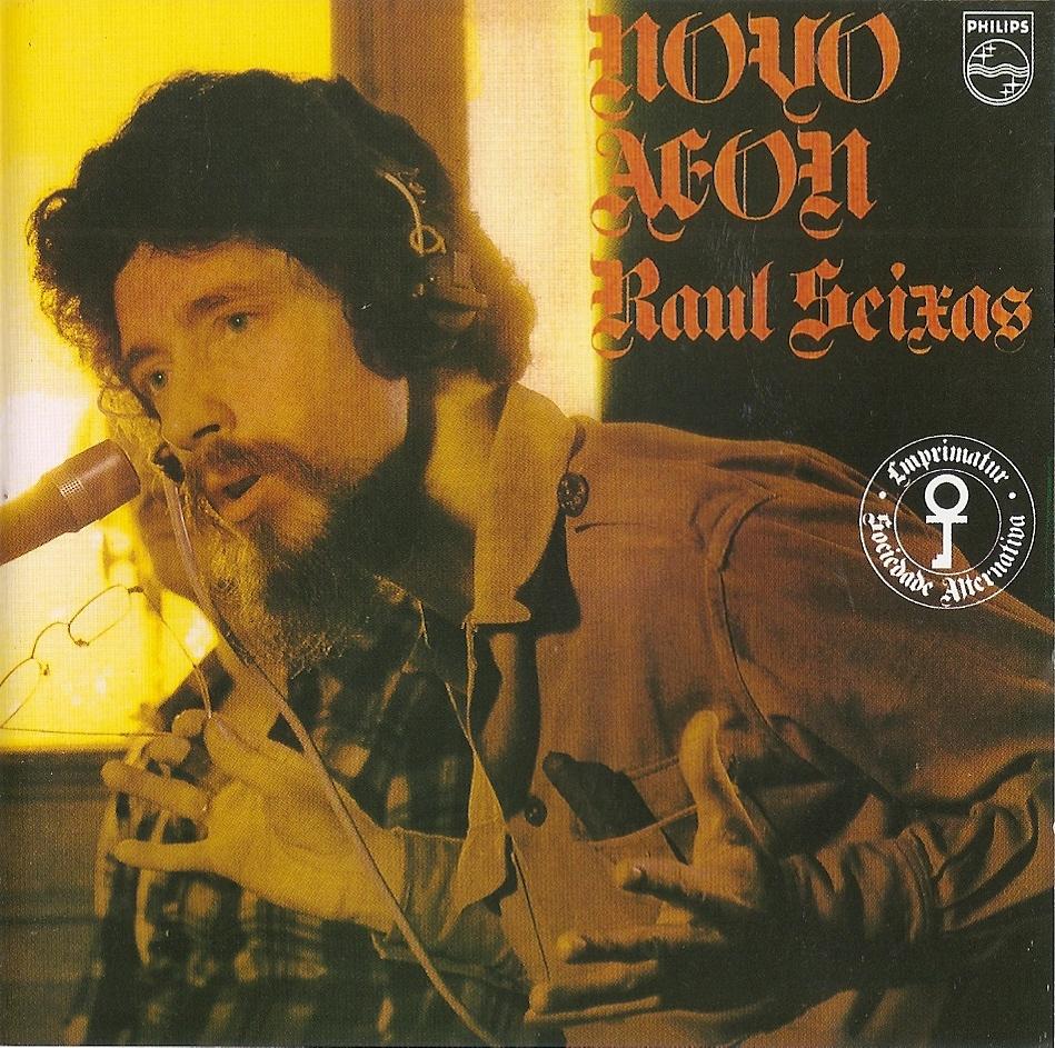 Raul Seixas (1975) Novo Aeon - Capa